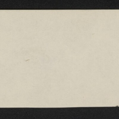 Fragment of stationery from William K. Gilchrist, circa March 1918