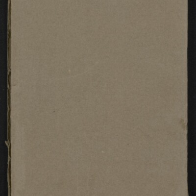 Catalogue of the Henry C. Frick Collection of Paintings, 1908 [back cover]