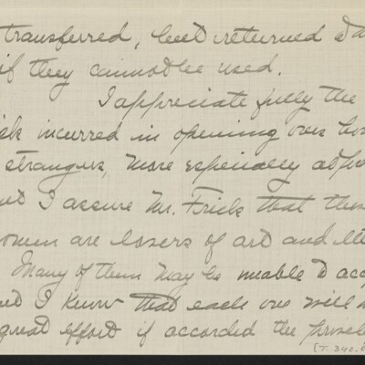 Letter from Jane Fitz Turner to J. Howard Bridge, 31 January 1918 [page 7 of 15]