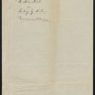Copy of a letter from H. Silva White to H.C. Frick, 9 October 1912 [back]