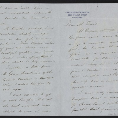 Letter from James Stephen Martin to Henry Clay Frick, 17 March 1898