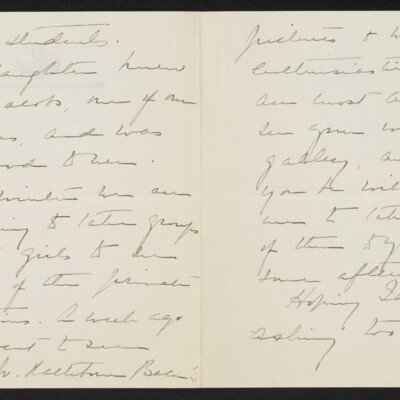 Letter from Emily Vanderbilt Hammond to [H.C.] Frick, 15 February 1918 [page 2 of 3]