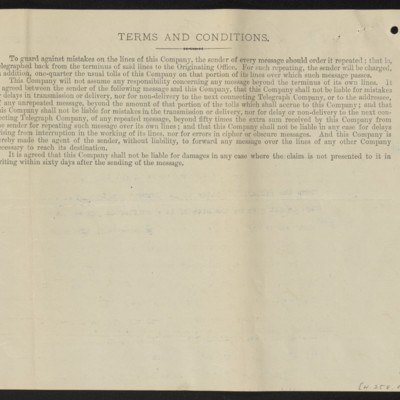Cable from [H.C. Frick] to H. Silva White, 18 October 1912 [back]