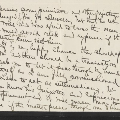 Letter from Alice B. Creelman to [H.C] Frick, 9 April 1915 [page 3 of 4]