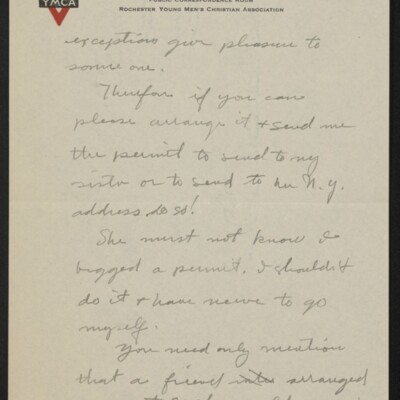 Letter from Arthur Fitch Campbell to Henry C. Frick, 19 December 1918 [page 3 of 6]