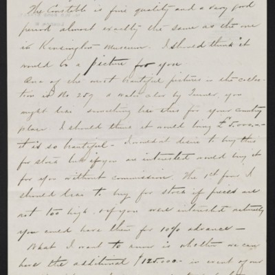 Letter from Charles S. Carstairs to [Henry Clay] Frick, 9 June 1908 [page 2 of 4]