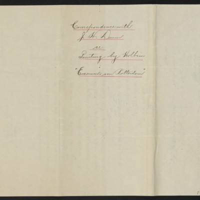 Letter from H.C. Frick to James H. Dunn, 18 October 1912 [back]