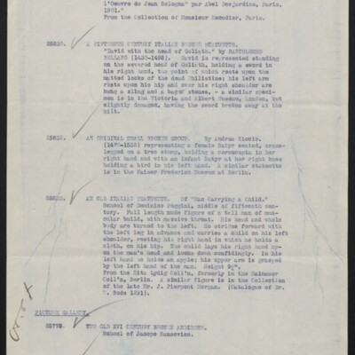 Articles on approbation at 1 East 70th Street, 1916 [page 2 of 3]