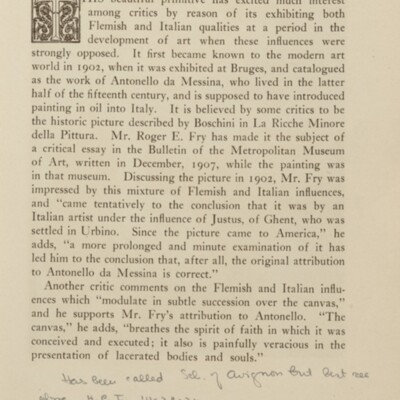 Paintings in the Collection of Henry Clay Frick, 1915 [page 41]