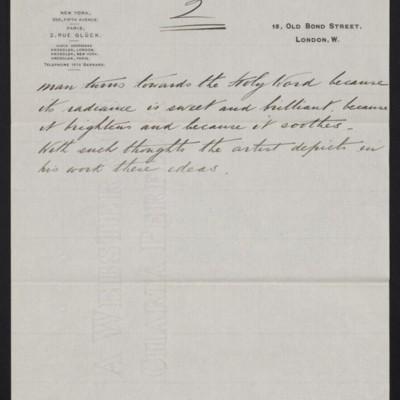 """Interpretation of Dagnan-Bouveret's """"Consolatrix Afflictorum,"""" circa 1903 [page 2 of 2]"""