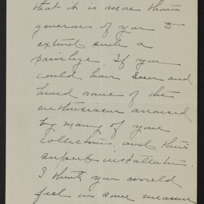 Letter from Clara Crawford Perkins to Henry C. Frick, 8 May 1918 [page 2 of 3]