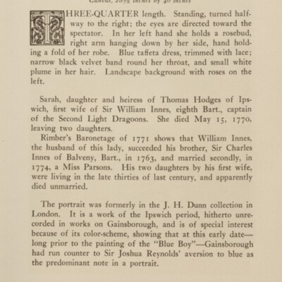 Paintings in the Collection of Henry Clay Frick, 1915 [page 85]