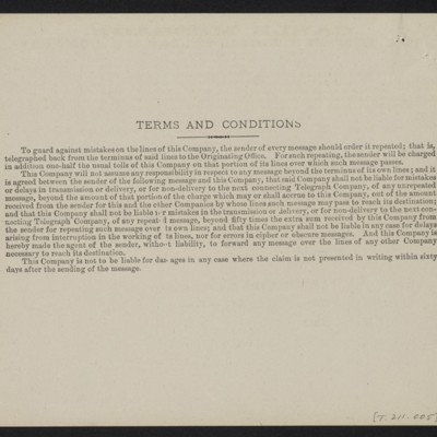 Cable from [Roger E.] Fry to [Henry Clay] Frick, 10 January 1910 [back]