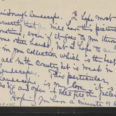 Letter from Alice B. Creelman to H.C. Frick, 19 May 1915 [page 3 of 4]