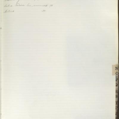 Bill Book No. 2, Index N