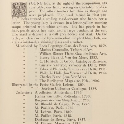 Paintings in the Collection of Henry Clay Frick, 1925 [page 165]